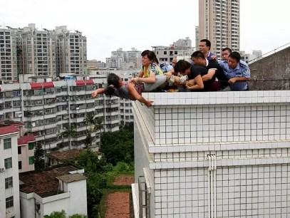 Fotos: Luego de matar a su subrino intenta suicidarse