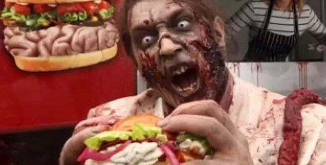 Nueva hamburguesa zombie ¿La probarías?