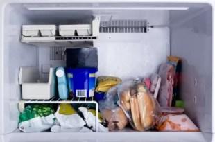 Alimentos que jamás debes guardar en el freezer