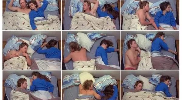 Dime cómo duermen y te diré que tipo de pareja son
