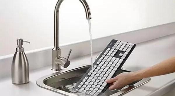 Logitec crea el teclado lavable - Así funciona