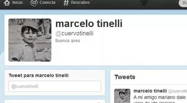Marcelo Tinelli tiene Twitter - La cuenta de Twitter de Marcelo Hugo