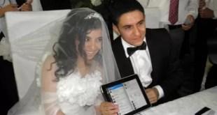 Insólito: Una pareja se casó por Twitter