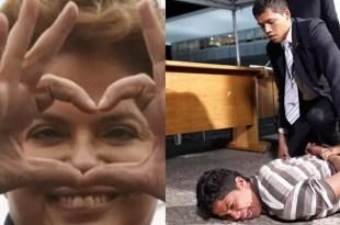 Arrestan a borracha que le declara su amor a Dilma Rousseff