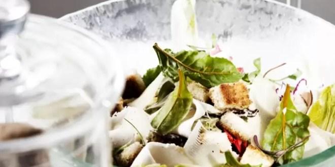 Cómo preparar la verdadera ensalada Caesar's