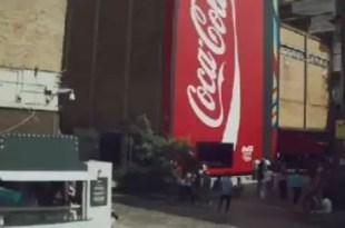 Video: La máquina expendedora de bebidas más grande del mundo