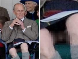 Fotos: El príncipe Felipe sin ropa interior
