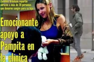 """Blanca, la hija de Pampita está """"bajo coma inducido"""""""