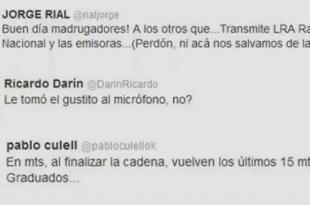 Famosos repudian en Twitter la cadena nacional de Cristina