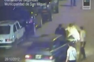 Video: Atropella a un policía para evitar el control de alcoholemia