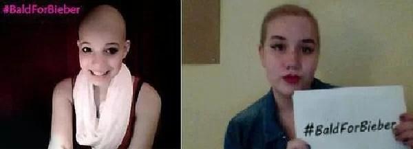 Video: Fans de Justin Bieber se rapan la cabeza