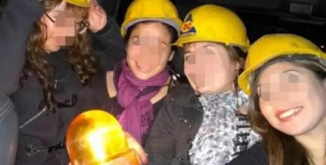 Funcionario se queda sin empleo por usar cascos de Defensa Civil en una fiesta