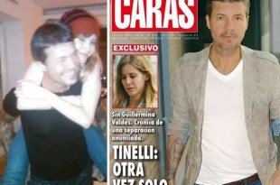 Marcelo Tinelli y Guillermina Valdes se separan