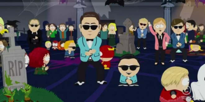 Video: South Park baila el 'Gangnam style'