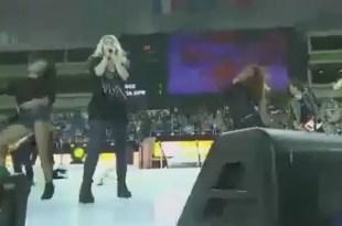 Video: Shakira baila y canta el Waka waka embarazada