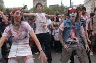 Fotos: Zombies invaden el centro porteño