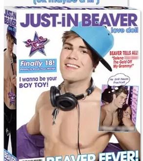 Fotos: así es el muñeco inflable de Justin Bieber