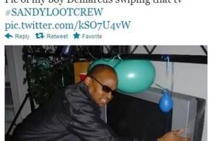 Van presos por colgar fotos de objetos robados durante huracán Sandy