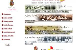 Pese a la crisis España invierte €500.000 para mejorar la web del Senado