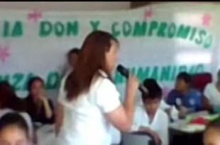 Video escándalo: discurso de una maestra contra la homosexualidad