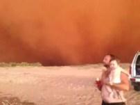 Fotos impresionantes: Tsunami de arena azota Australia