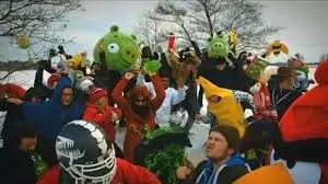 Video imperdible: Angry Birds al ritmo de 'Harlem Shake'