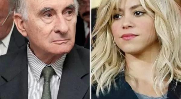 La empresa de perfumes de Shakira echó a Fernando De la Rúa