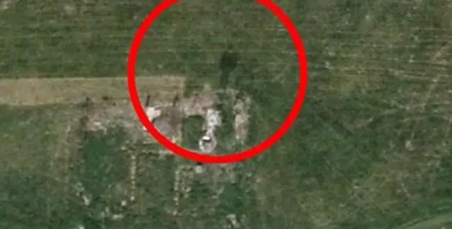 Foto: Encuentran un fantasma a través de Google Earth
