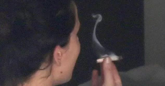 Fotos: Jennifer Lawrence fumando marihuana