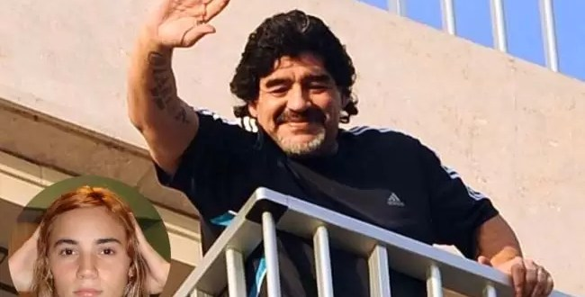 ¿Diego Maradona espera un hijo con su joven novia?