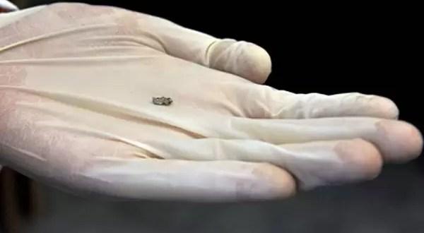 Venden a 40 dólares el gramo de meteorito de Rusia