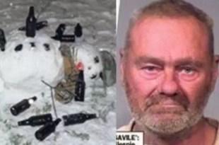 Casi pierde el miembro por meterlo en muñeco de nieve