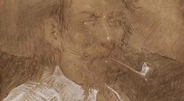 ¿Un dibujo de Pablo Picasso pegado a una de sus obras?