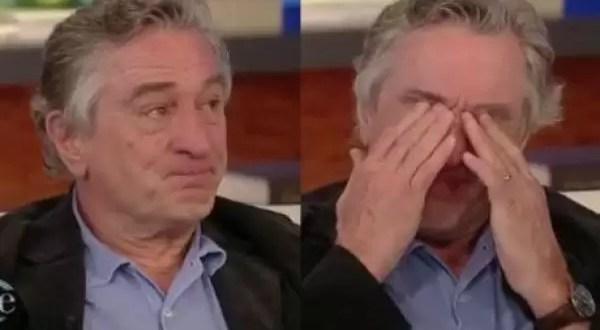 Video ¿Qué hizo llorar a Robert De Niro?