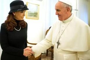 El pedido de Cristina Kirchner al Papa Francisco - Fotos y video
