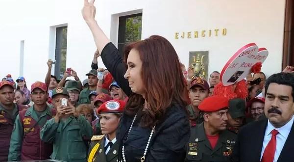Los tuits de Cristina Kirchner sobre la muerte de Hugo Chávez