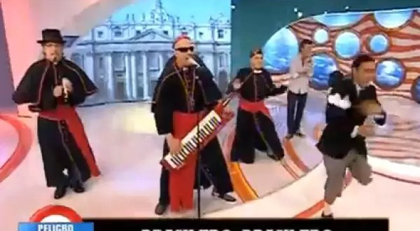 No te pierdas la cumbia Papal argentina - Video