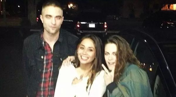 Foto: Robert Pattinson y Kristen Stewart juntos