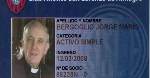 ¿De qué cuadro es el papa Francisco?