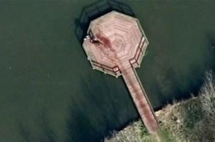 Google Earth registra ¿un asesinato?