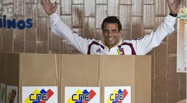 Henrique Capriles pide un recuento de votos
