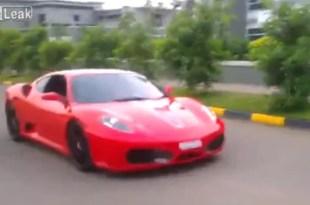 Video indignante: Tiene nueve años y maneja una Ferrari