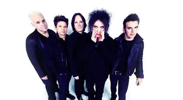 Listado de temas del show de The Cure