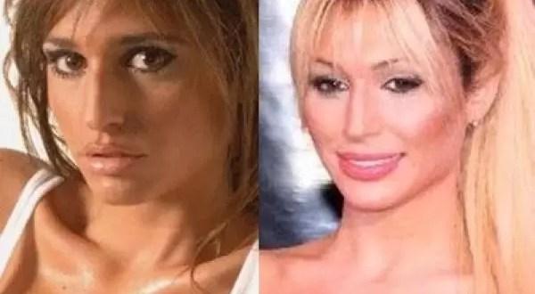 Foto: Antes y después de Victoria Xipolitakis
