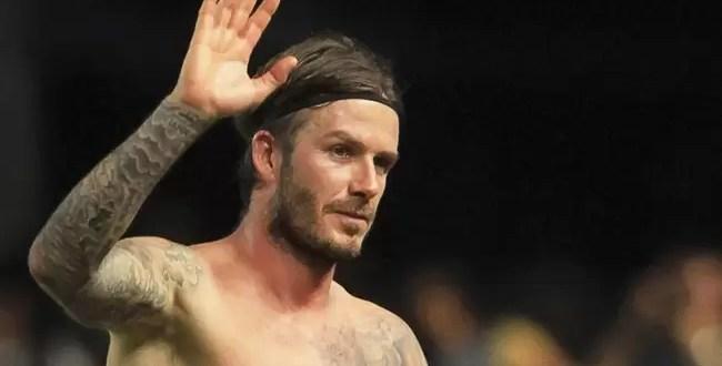 David Beckham se retira de fútbol