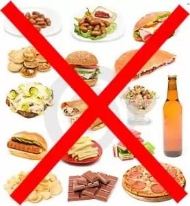 Cómo evitar la comida chatarra