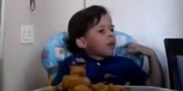 Video: por qué este niño no quiere comer animales