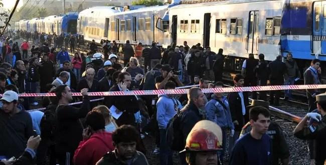 El tren tenía problema de frenos