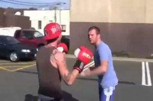 Video: Así se gana una pelea con sólo mover la cabeza