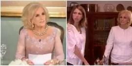 Por qué Florencia Bertotti no irá nunca a almorzar con Mirtha